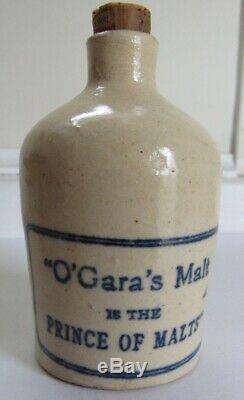 Stoneware Mini Advertising Liquor Jug C 1890 Pre-Pro Scarce