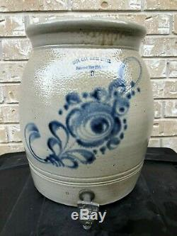 Stoneware Water Cooler Patented 1886