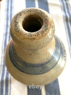 Stoneware beer bottle Hyde Park blue ring