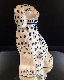 Texas Stoneware Spongeware Doorstop Dog-The Best-Mint-HTF-BUY IT NOW