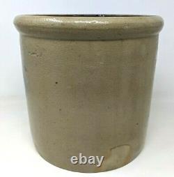 VTG Antique Red Wing Stoneware Salt Glaze 2 Gallon Bee Sting Target Crock M21