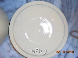 Vintage Antique 2 pc Homemade 1c Pickles Crock 2 Gal Stoneware seen on Friends
