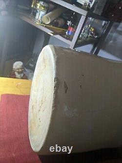 Vintage Antique 8 Gallon Red Wing Union Stoneware Crock, Bail Handles