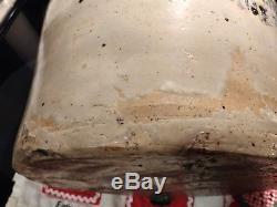 Vintage Antique Brown Whiskey Jug Stoneware Crock Primitive Nashville Cooney