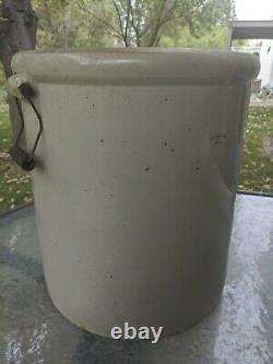 Vintage Antique Red Wing Union Stoneware 10 Gallon Crock