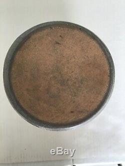Vintage Hamilton & Jones Stoneware Salt Glazed Crock Late 1800s