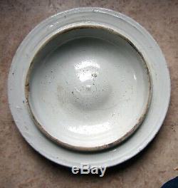Vintage Red Wing Stoneware 5/6g Petal Crock LID