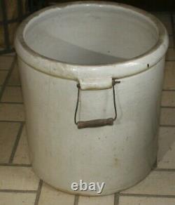 Vintage Redwing Union Stoneware 12 Gallon Crock Pat. 1915