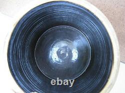 Vtg. Antique Red Wing 3 Gallon Salt Glaze Bullseye/Bee Sting Stoneware Crock NR