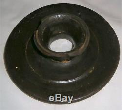 West Troy Pottery #5 Stoneware Butter Churn Cobalt Blue Decoration